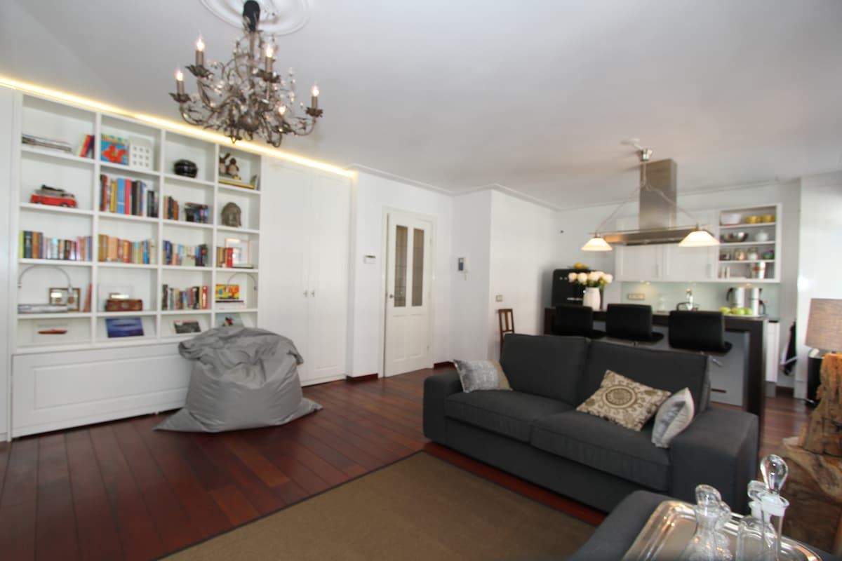 The cozy apartment has all of the amenities guests will need to make their visit to Amsterdam special.