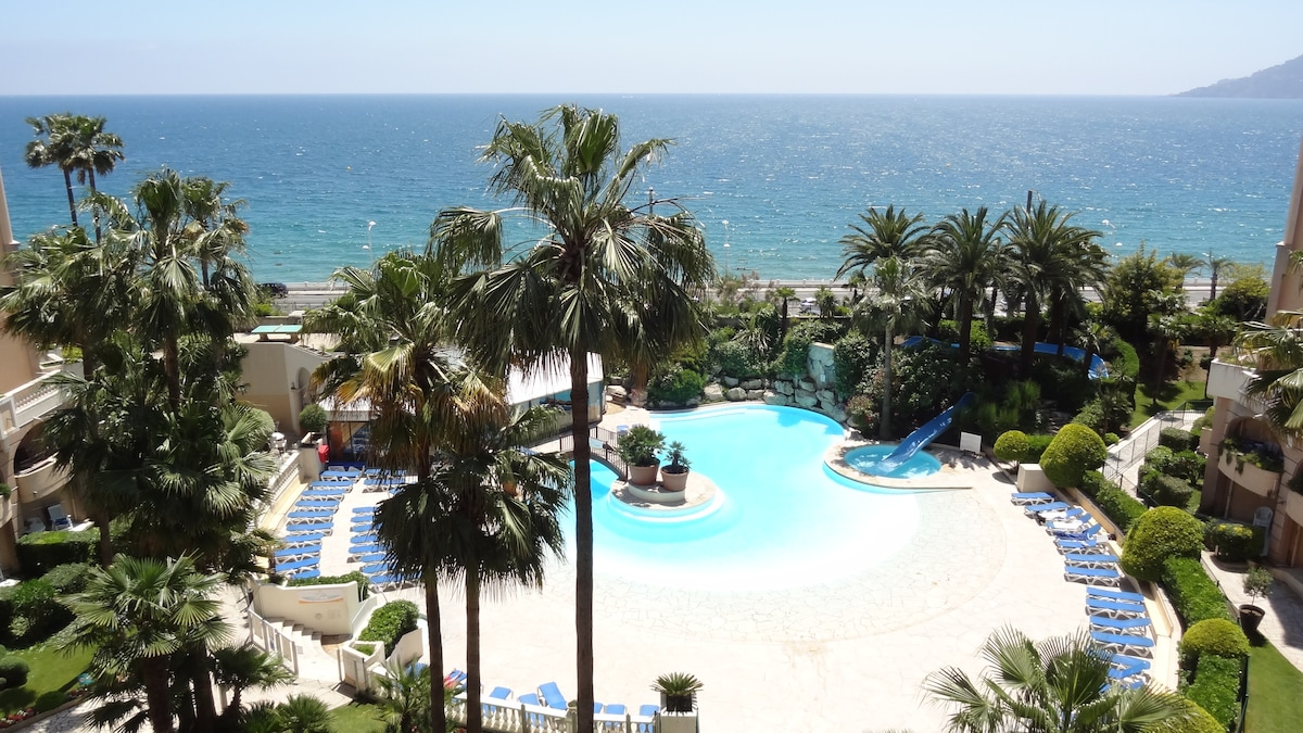 #Cannes Luxe3* Seafront Beachs Pool