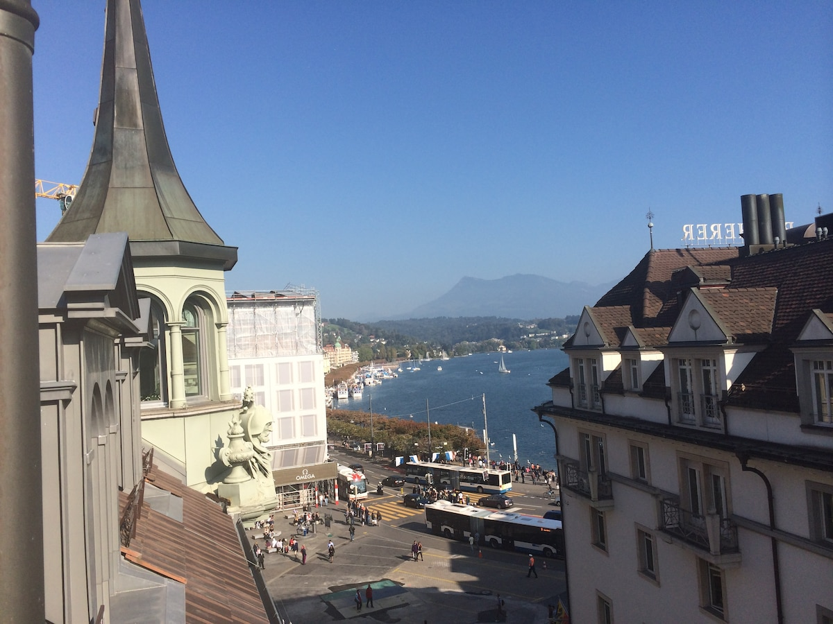 In the <3 of Lucerne with Lake view