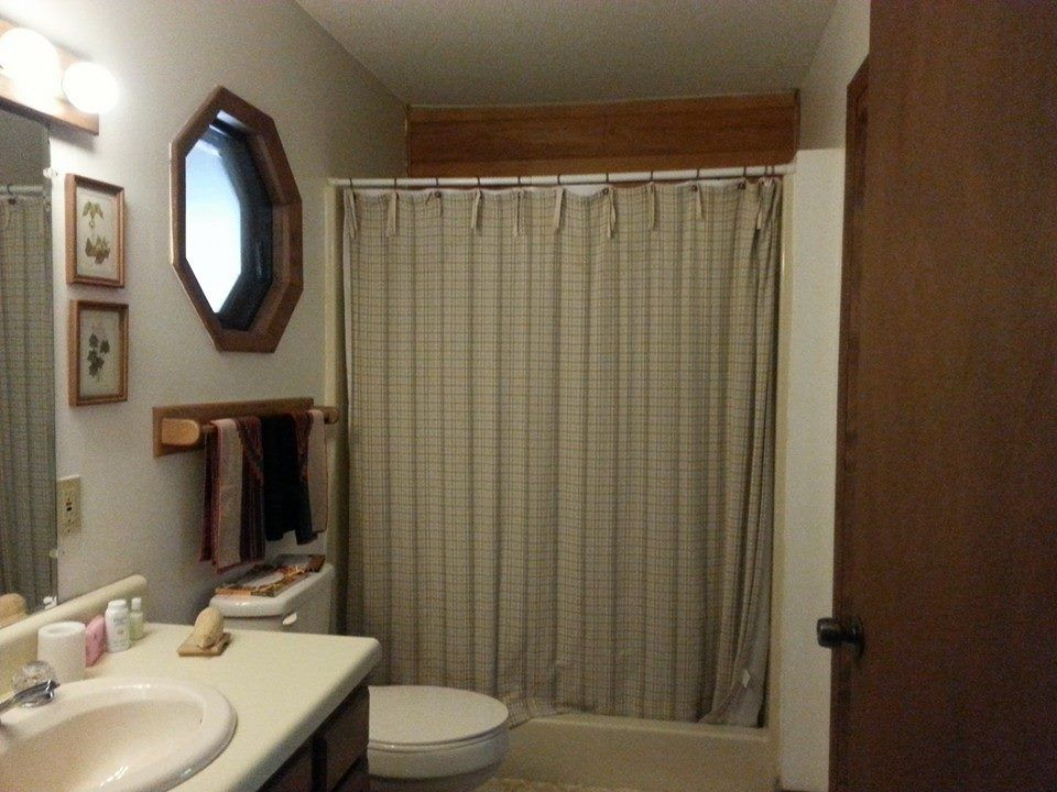 A view of your bathroom from the other door leading from The Great Room