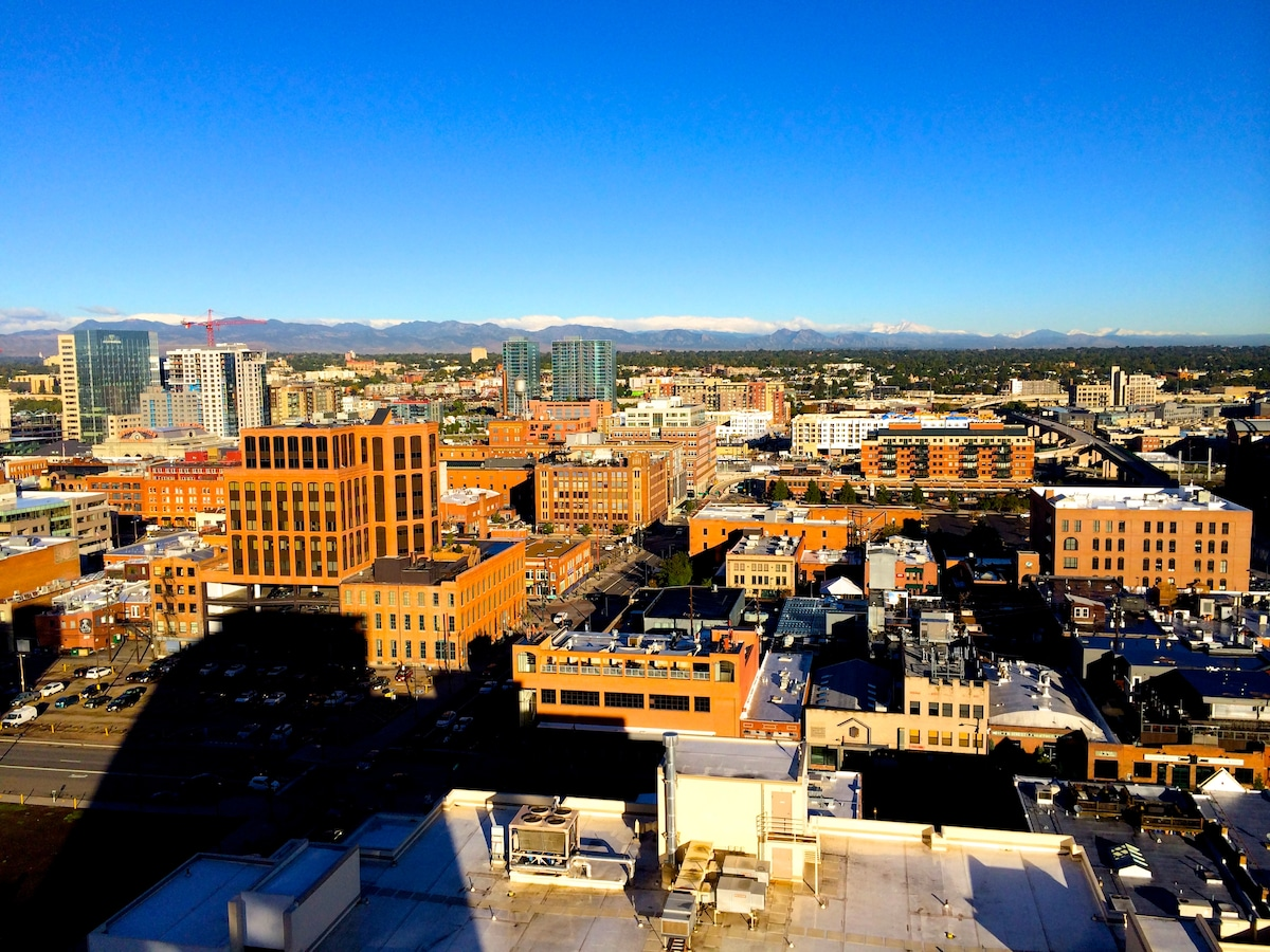 Central Denver Hi Rise. Great view!