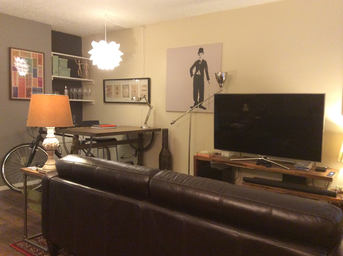 Nice 1BR/1B apt. 1.4 miles from ACL
