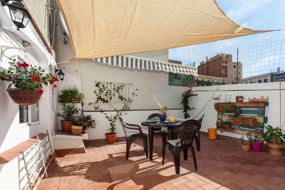 SUPERB CENTRIC APART WITH TERRACE