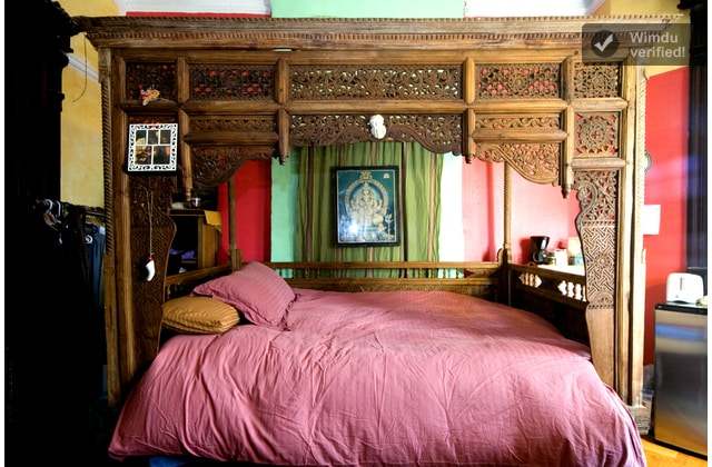 The Bed in the Red Room
