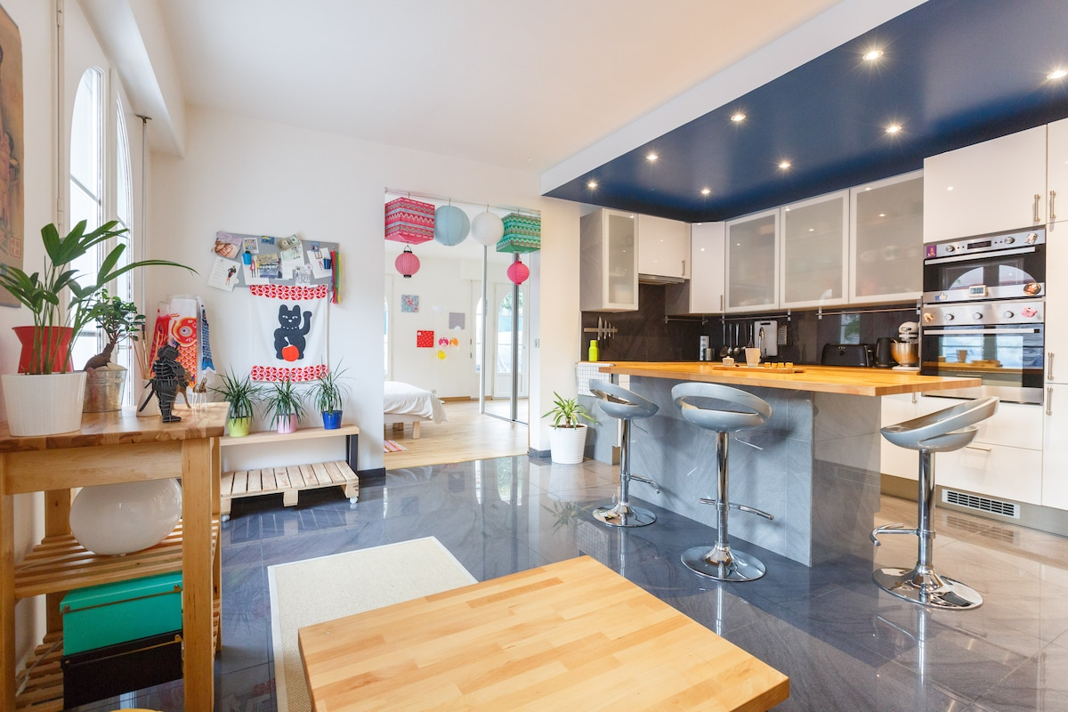 Cosy apartment at 15min from Paris