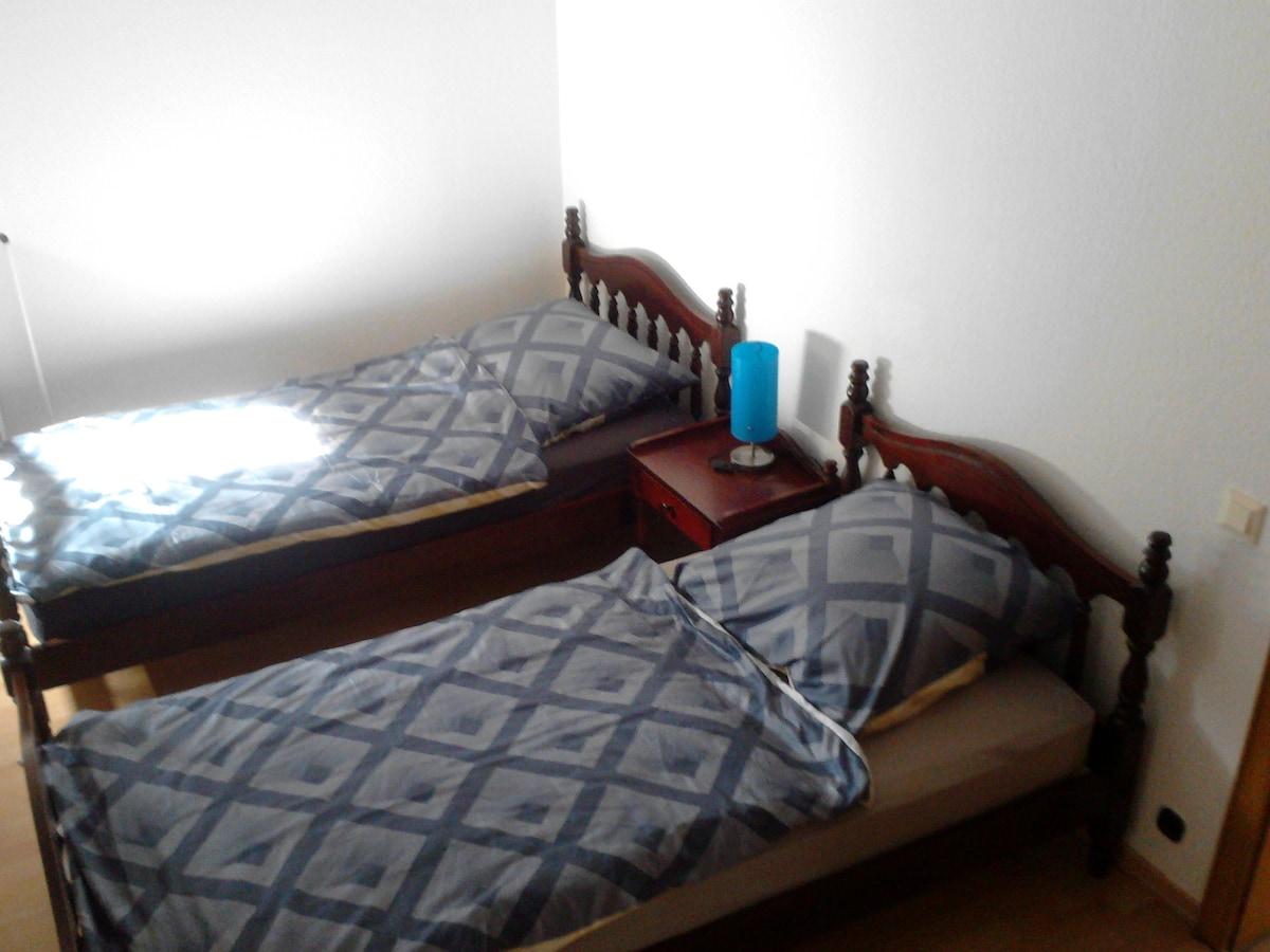 Doppelzimmer in Einliegerwohnung