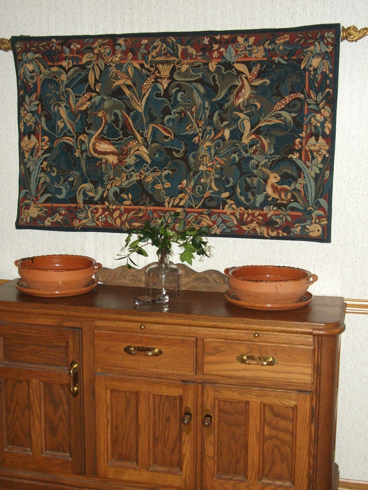 Beautiful Tapestry and Buffett!