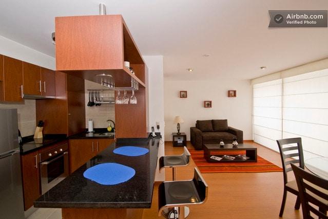1 bedroom apt, Barranco 5th floor