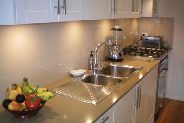 Fully Equipped Galley Style Kitchen