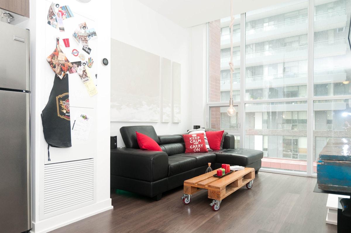 Single Bed Downtown Toronto