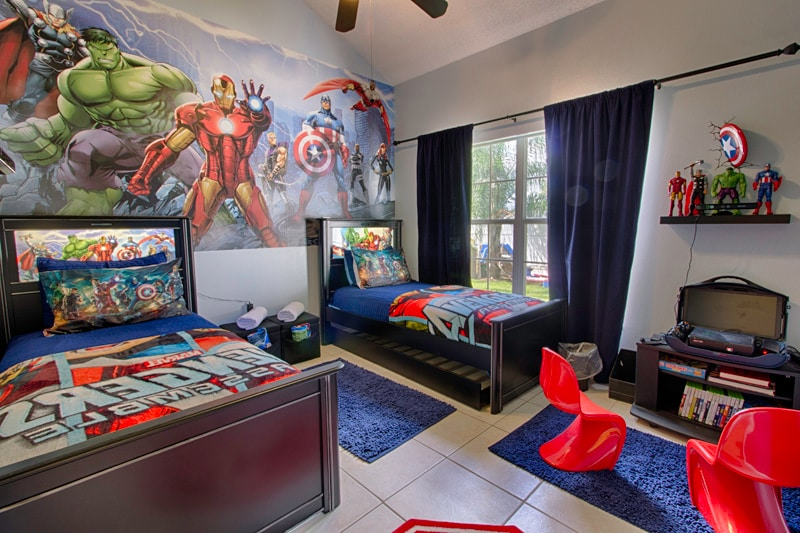 Themed Villa Only 4 Mi To Disney In Kissimmee