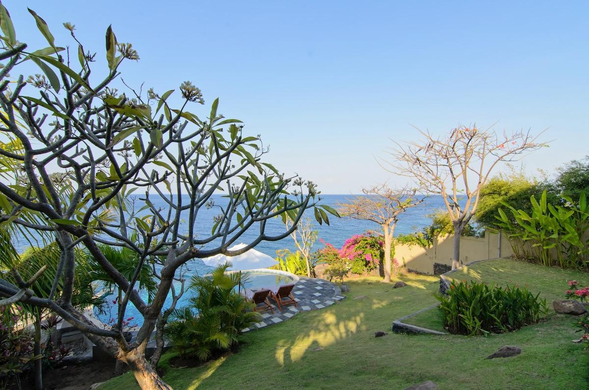 Villa Aquamarine - Blue Ocean Views