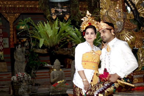 Beautiful Traditona Balinese house