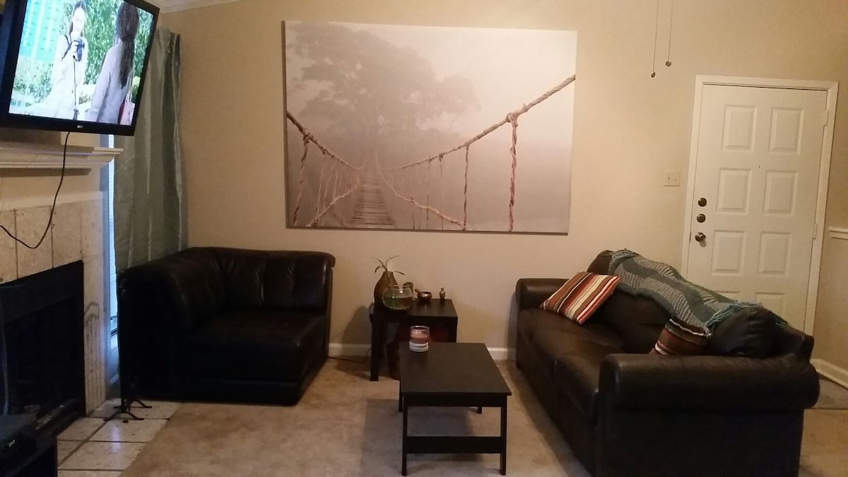 Spacious Apt minutes from DT!