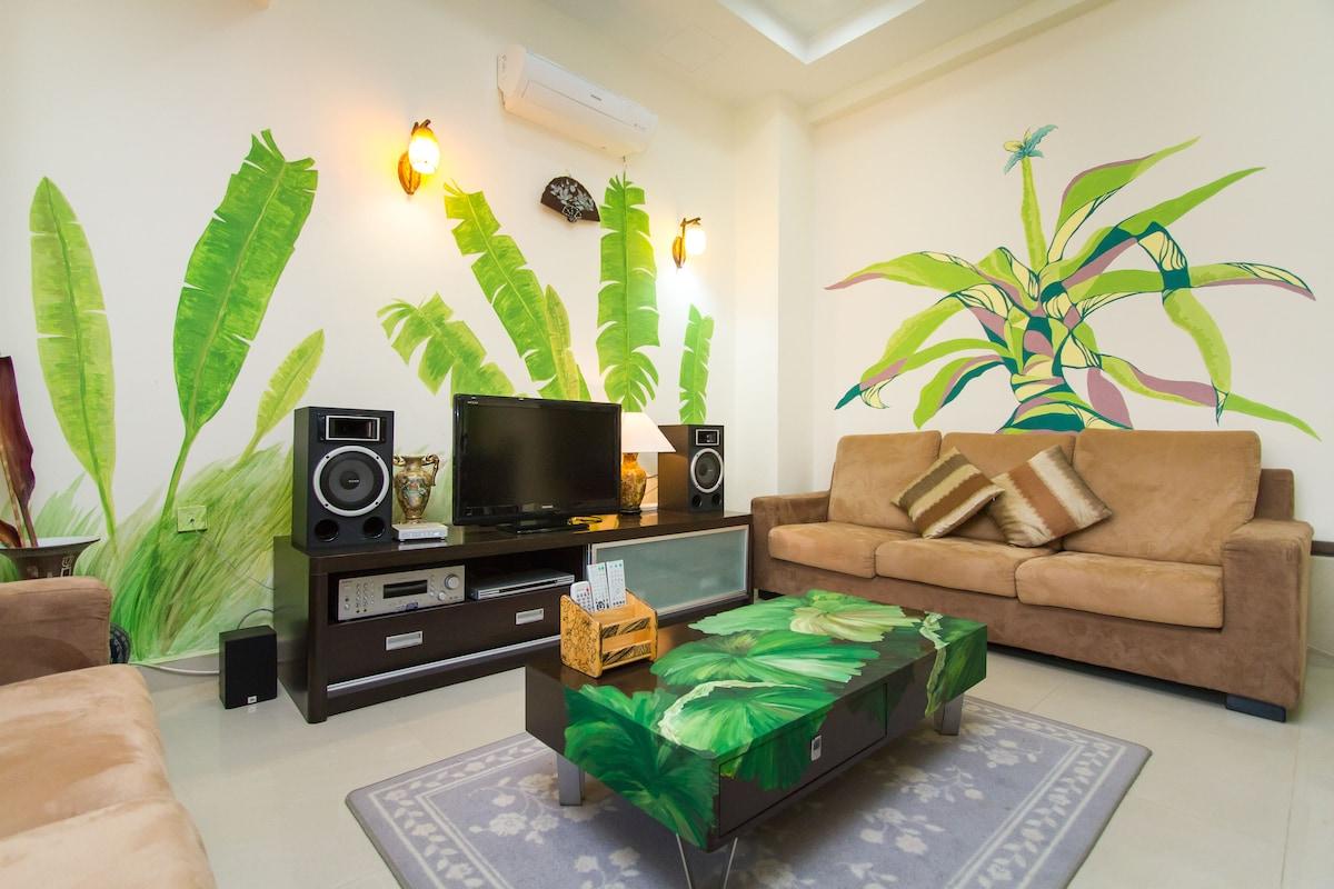Six rooms Seaside Holiday Villa