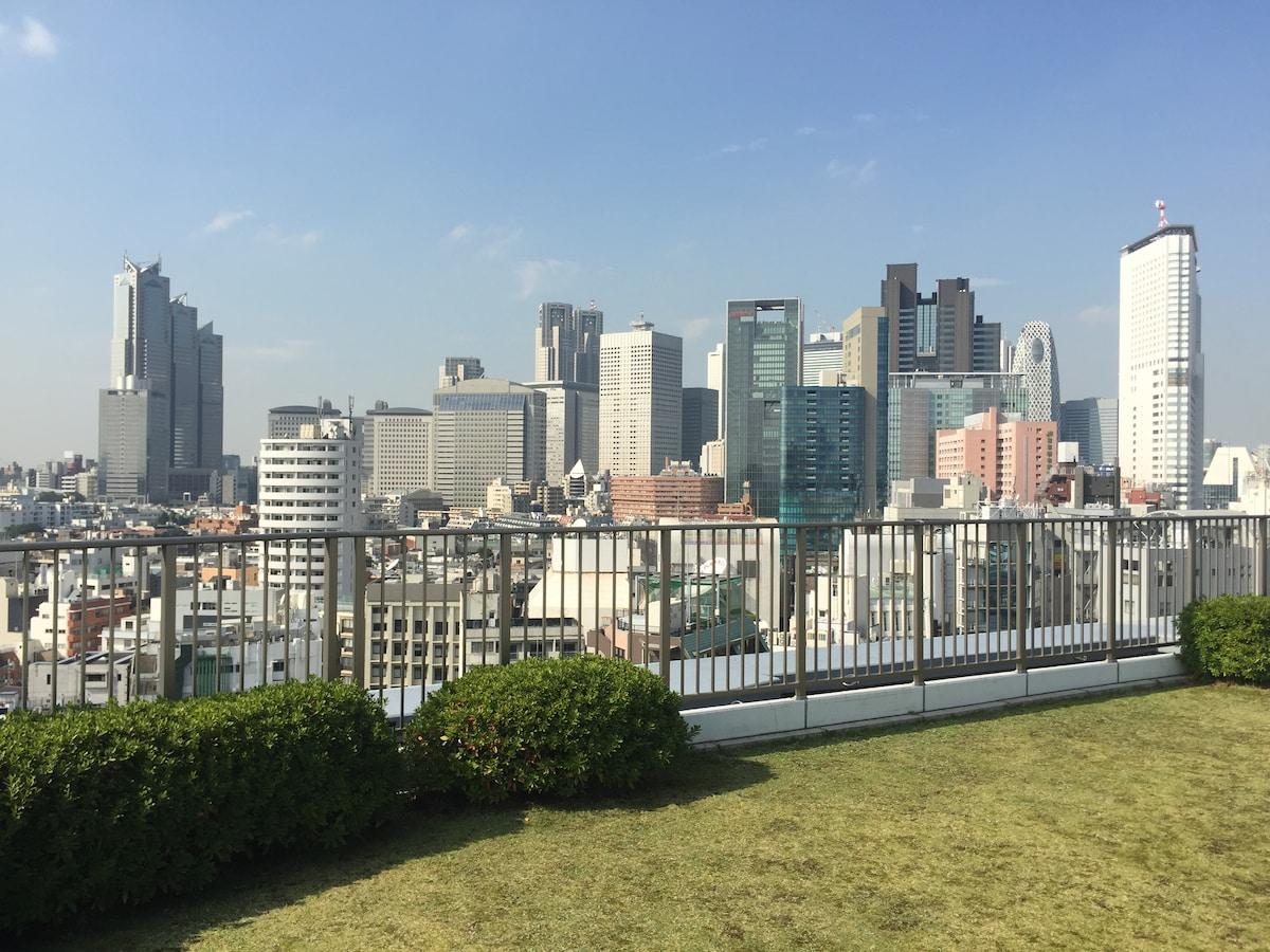 Central, Modern, Spacious,Fuji View