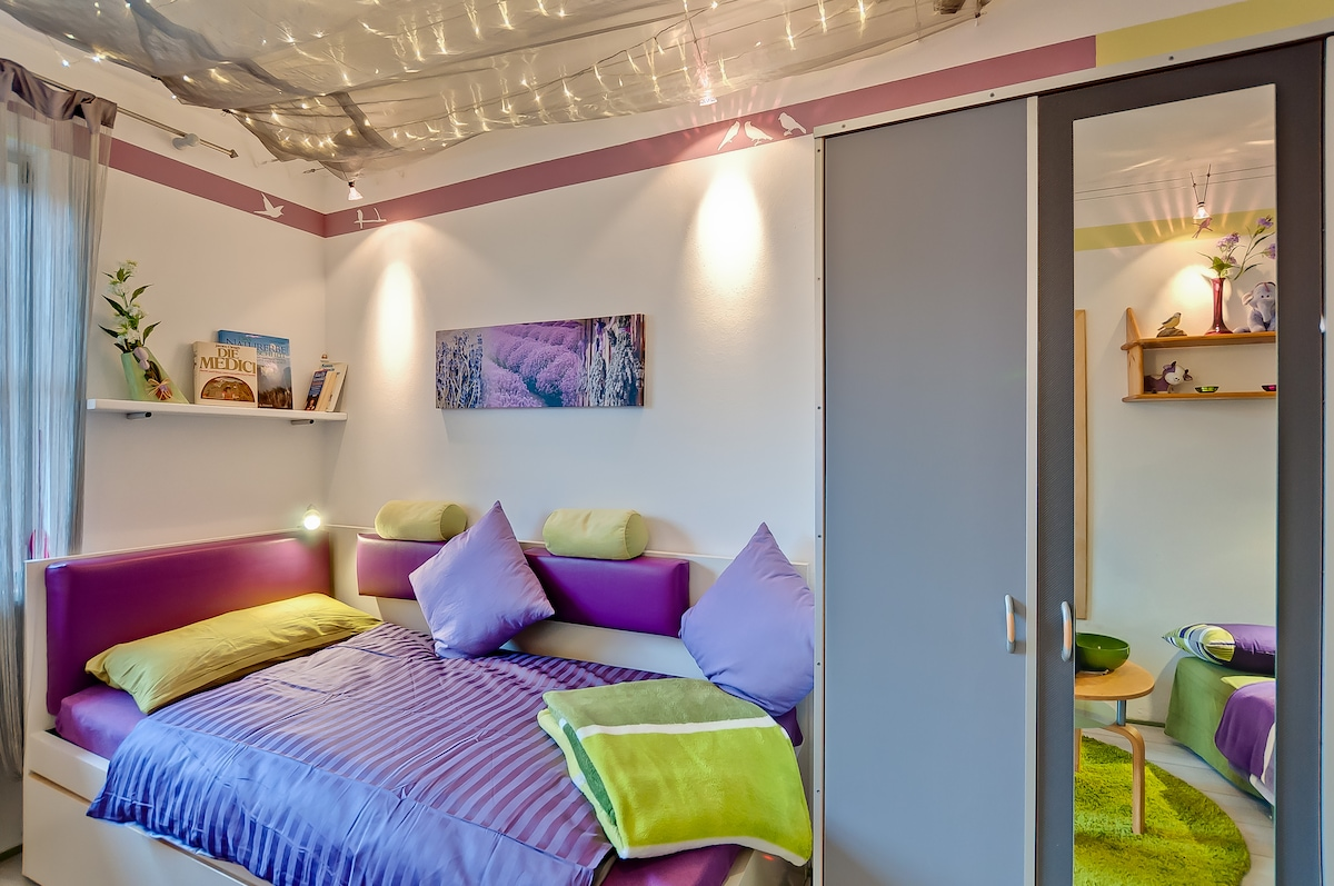 ** Top equipped room + own Bath **