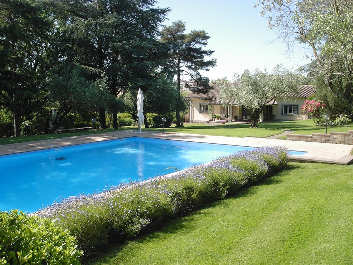 Villa Oliva, un'oasi di pace.