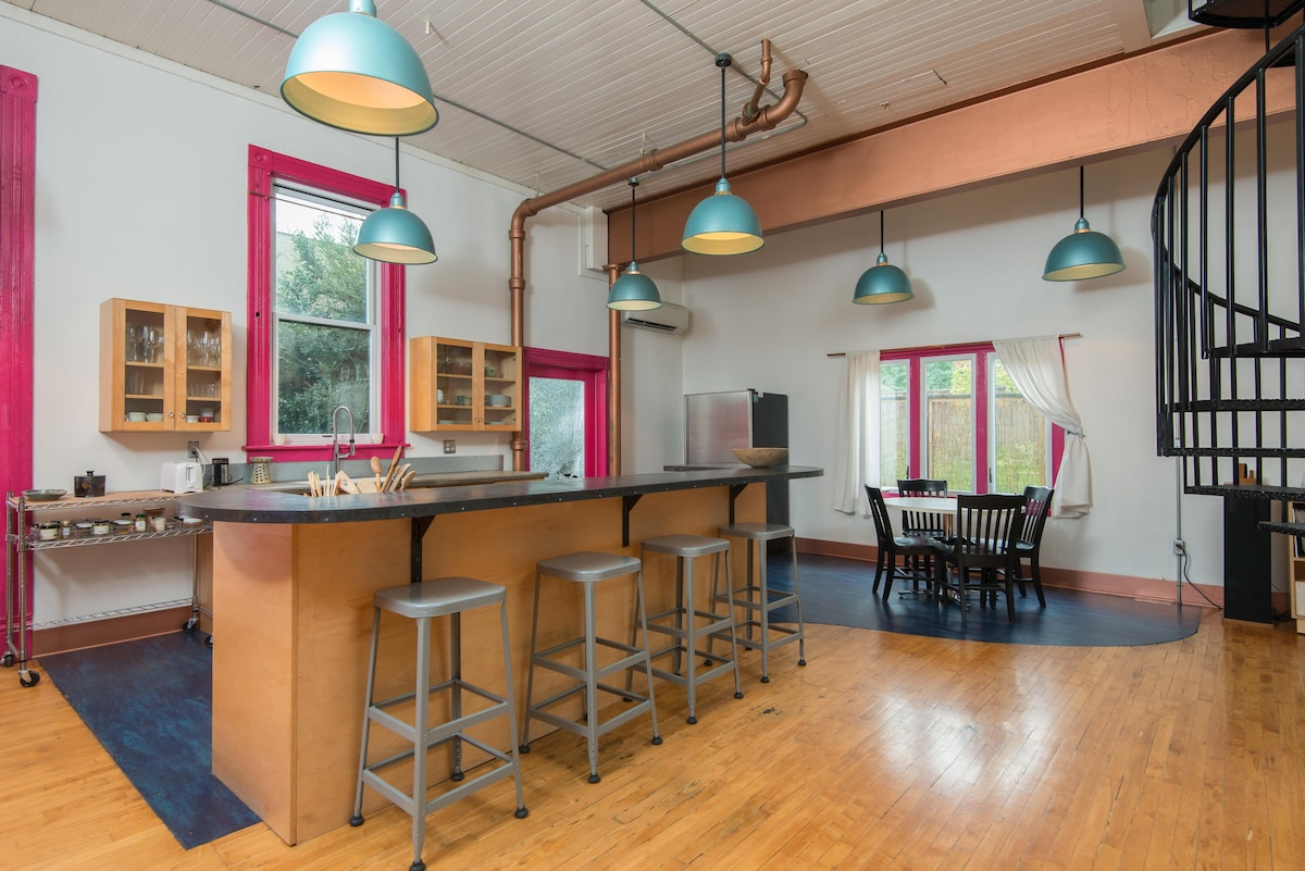 Secluded Townhouse on N.Mississippi