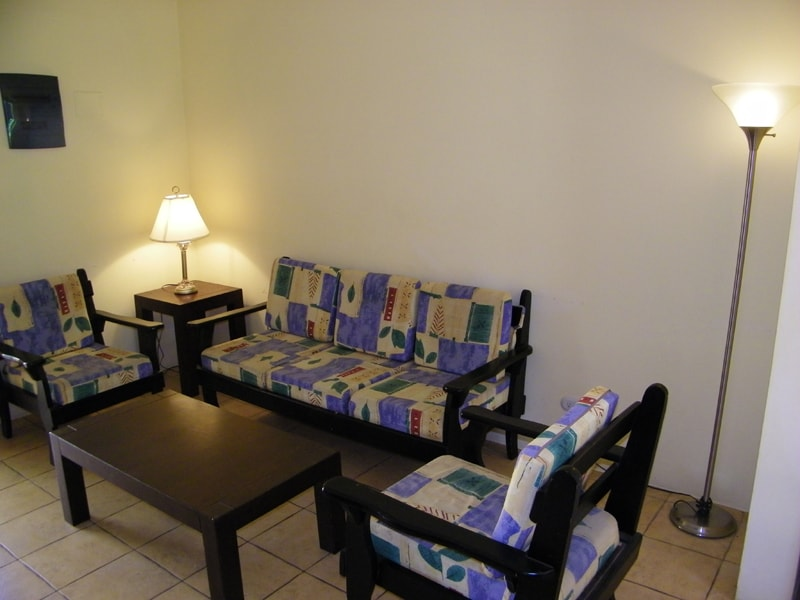 Ample living room space for your family or entertaining guests.
