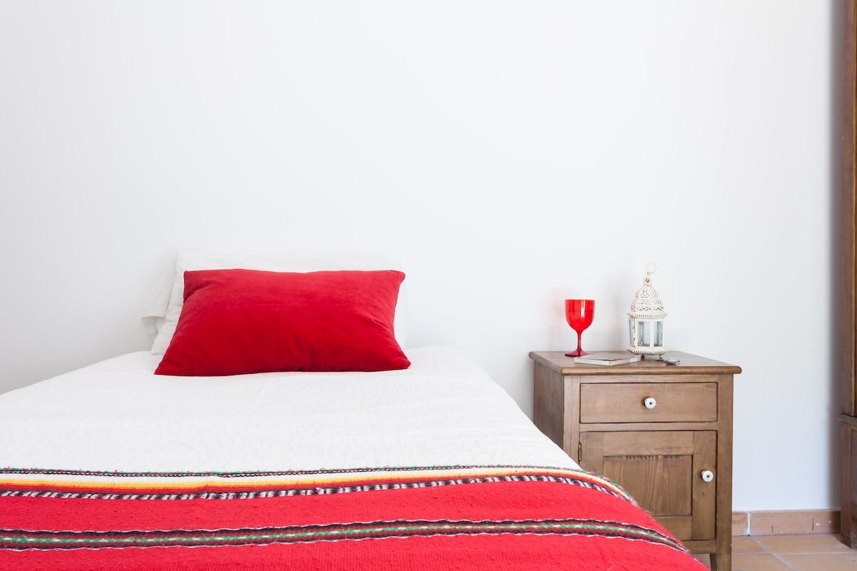 The guest room / La habitación de huéspedes