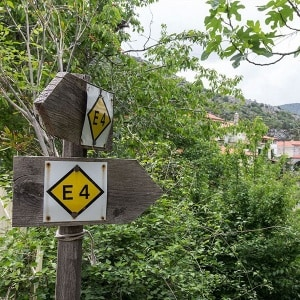 Walk-European path E4, Peloponnese