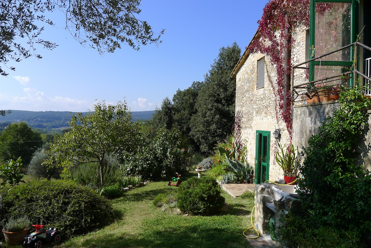 Visiting the  green heart of Italy