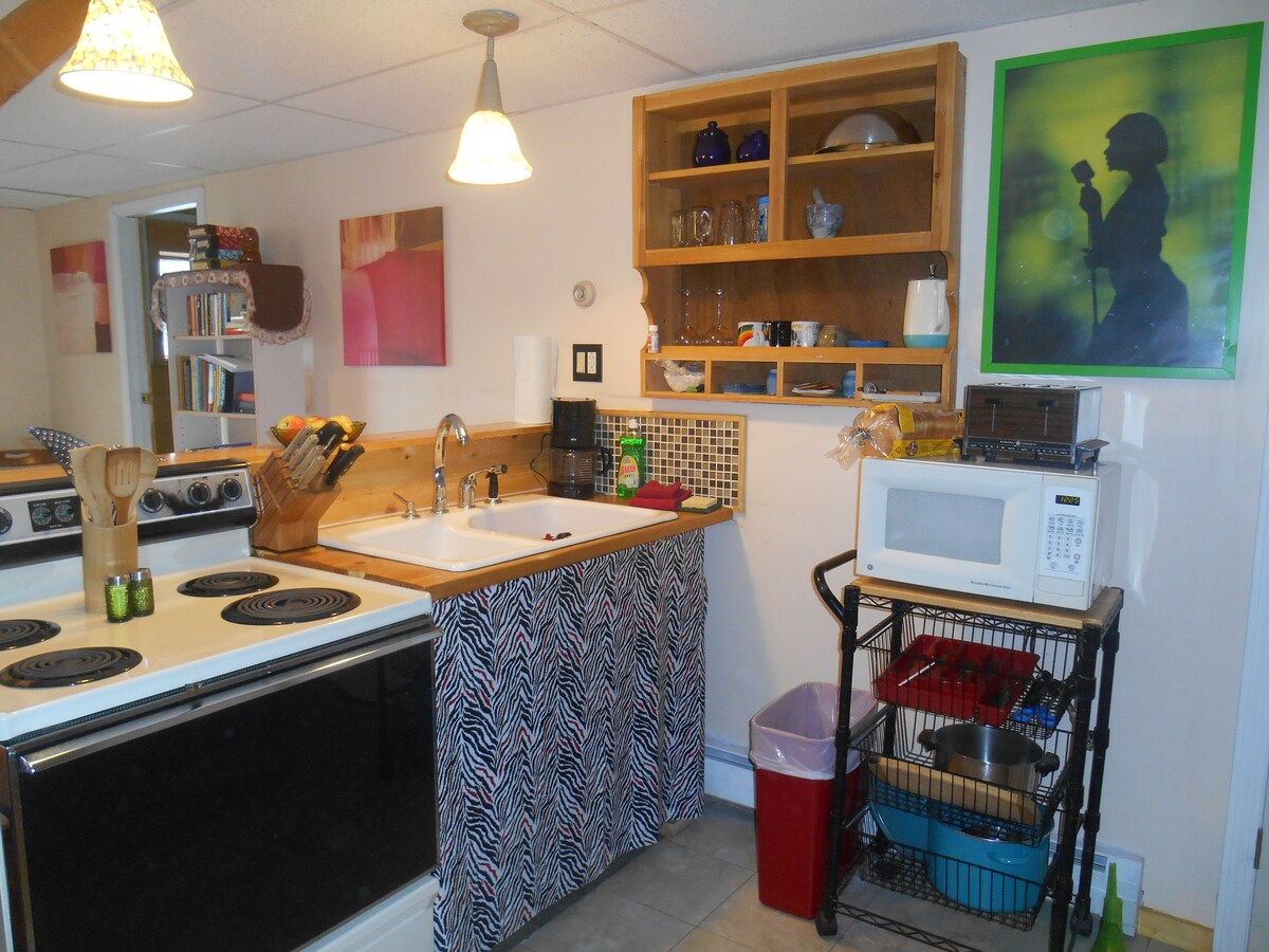 Well equipped Self-Catering kitchen