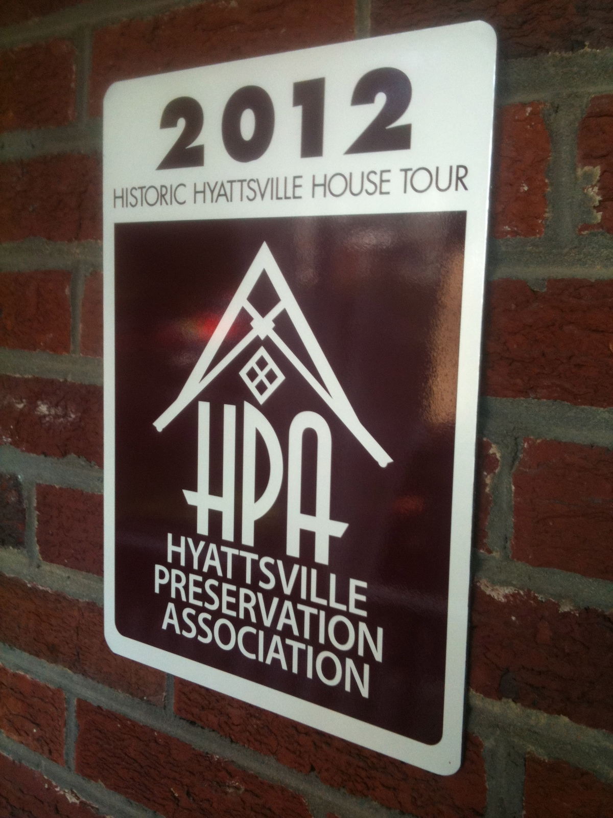 """2012 Historic Hyattsville House Tour - 1941 Property nominated """"Most Spectacular House & Garden"""""""