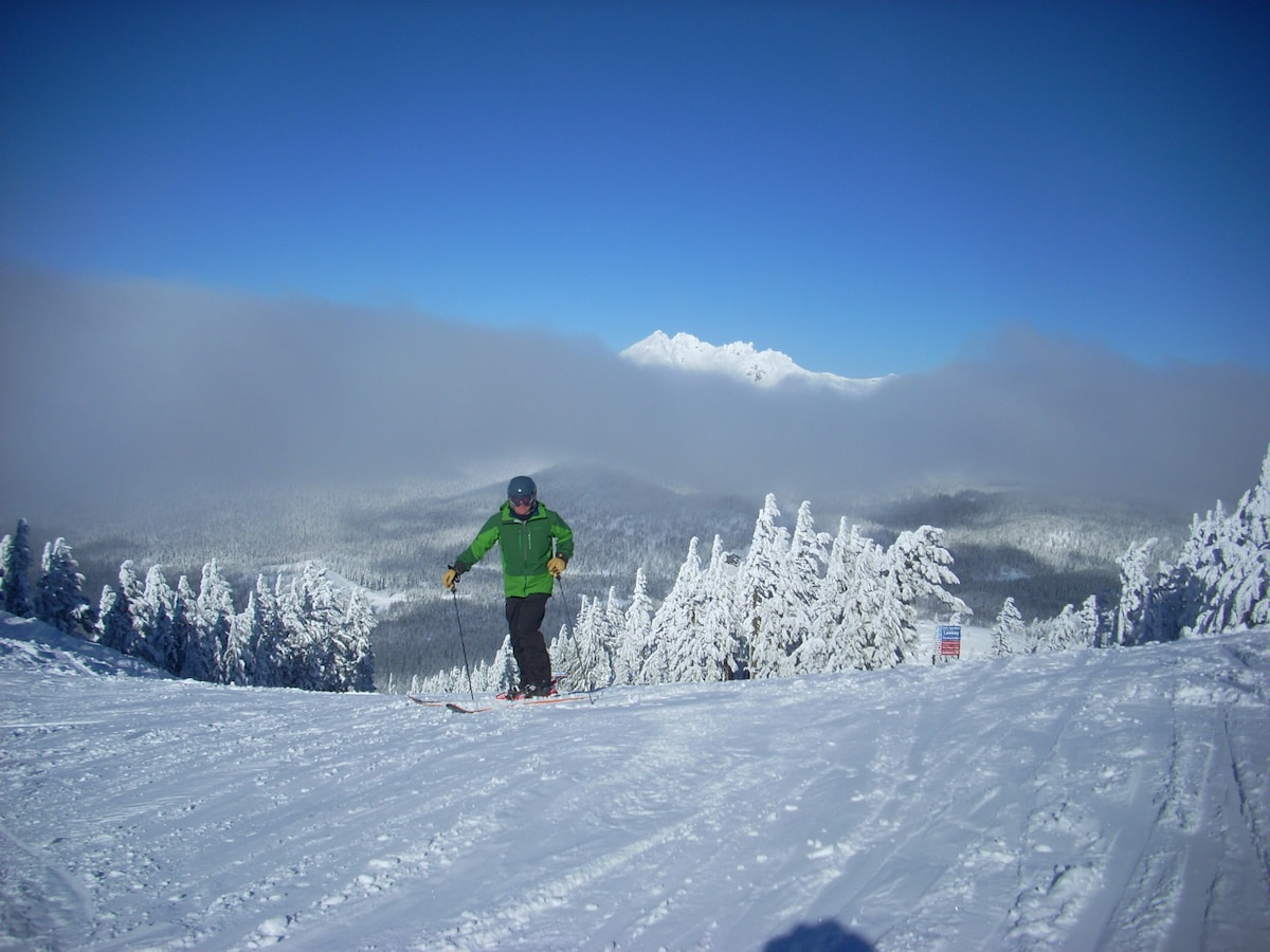 Ready to ski at Mt. B! We have April and May dates available, but not for long!
