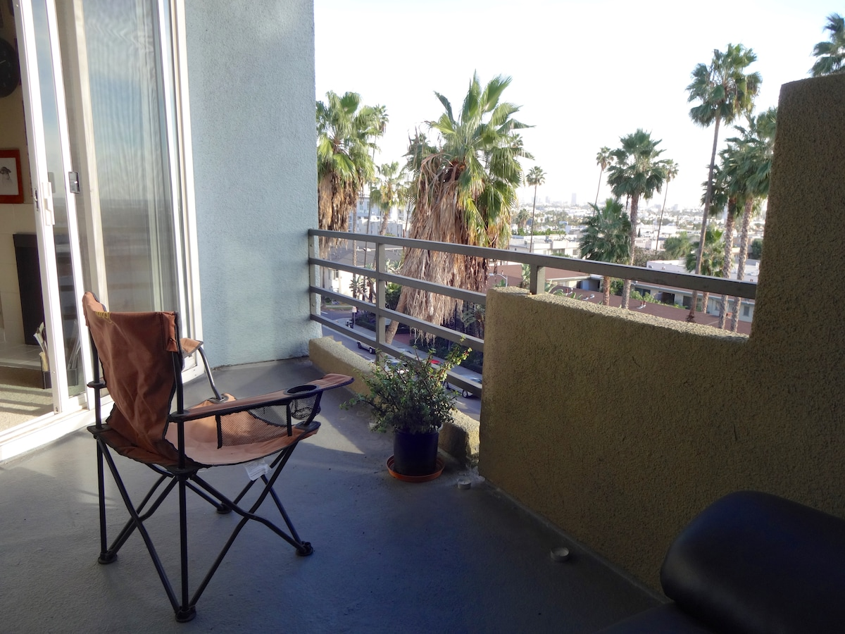 Great view in Hollywood