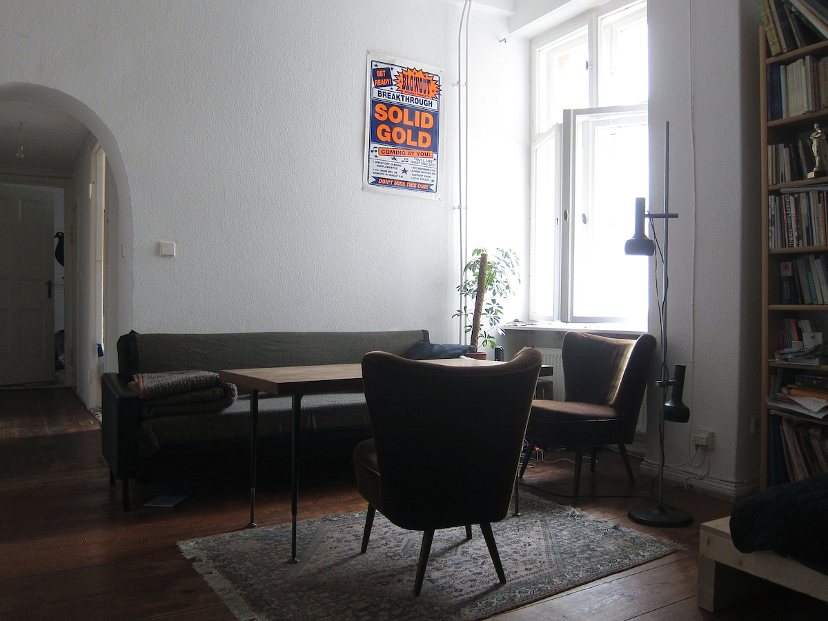 Cozy apartment in central Neukölln