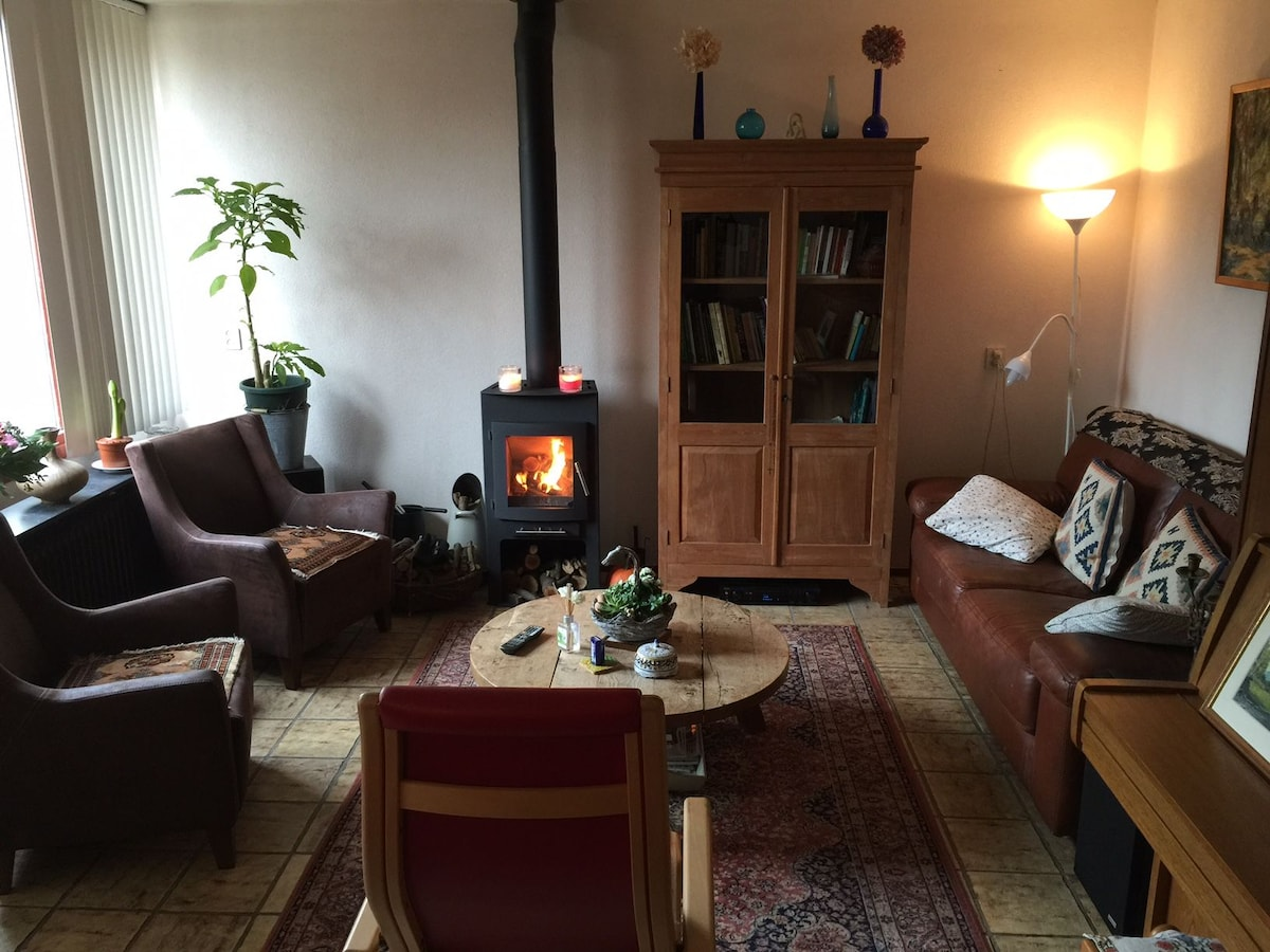 Nieuwegein vakantiewoningen appartementen airbnb - Gemeubileerde woonkamer ...