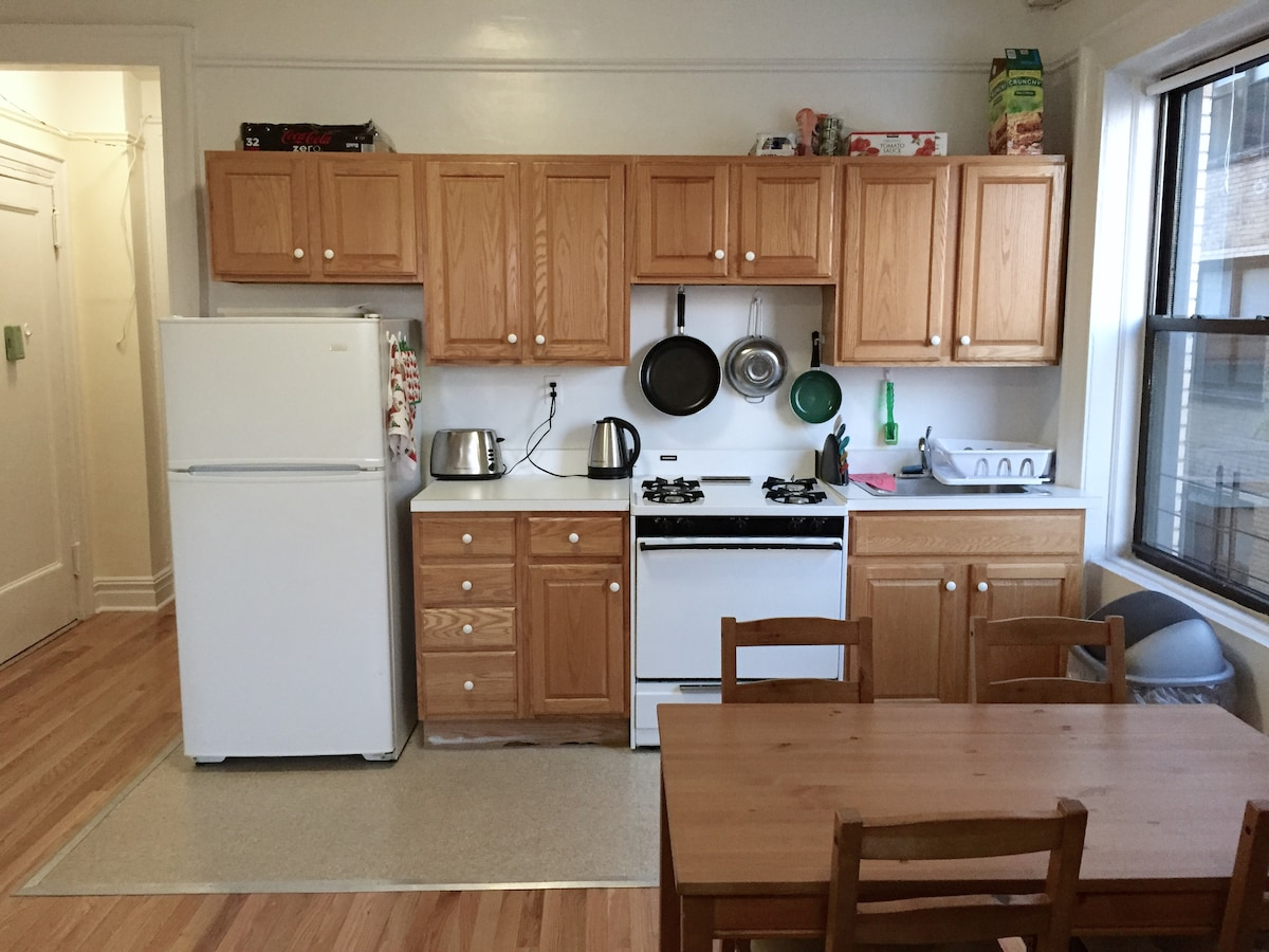 Spacious apt. for 2-4 in NYC!