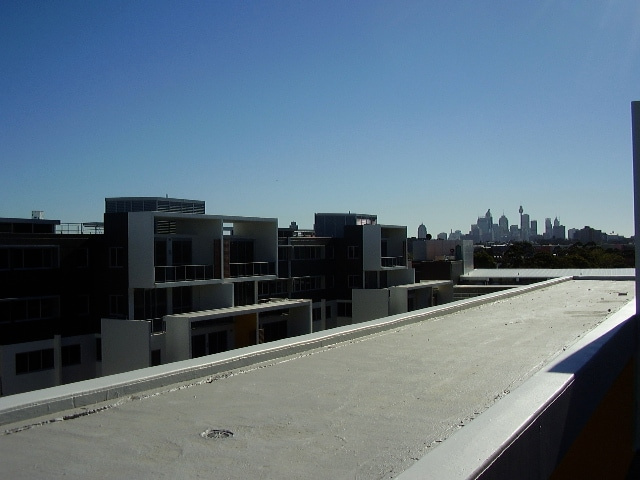 View to Sydney City Centerpoint 5 k away. you can walk to city lol. we do every sunday morning!