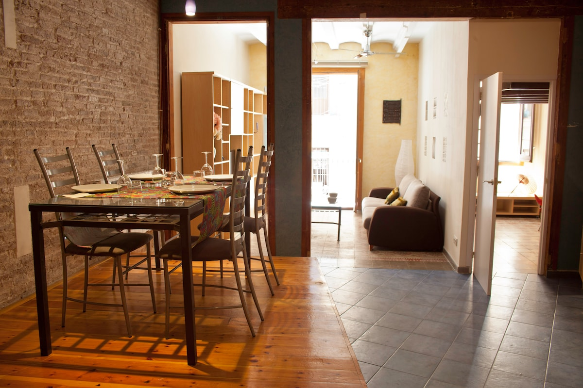 Fantastic apartment in Raval!