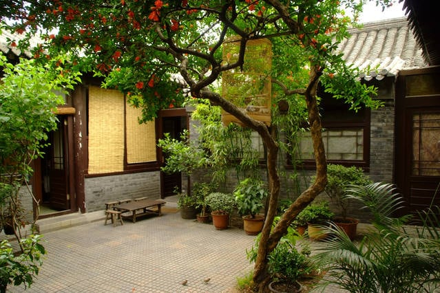 Jinsi Courtyard in central Beijing2