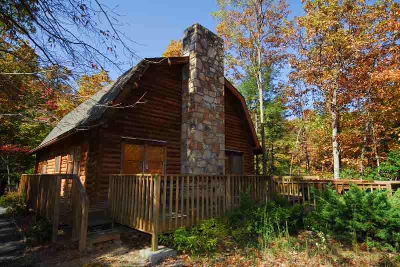 Luxury Mountain Log Cabin
