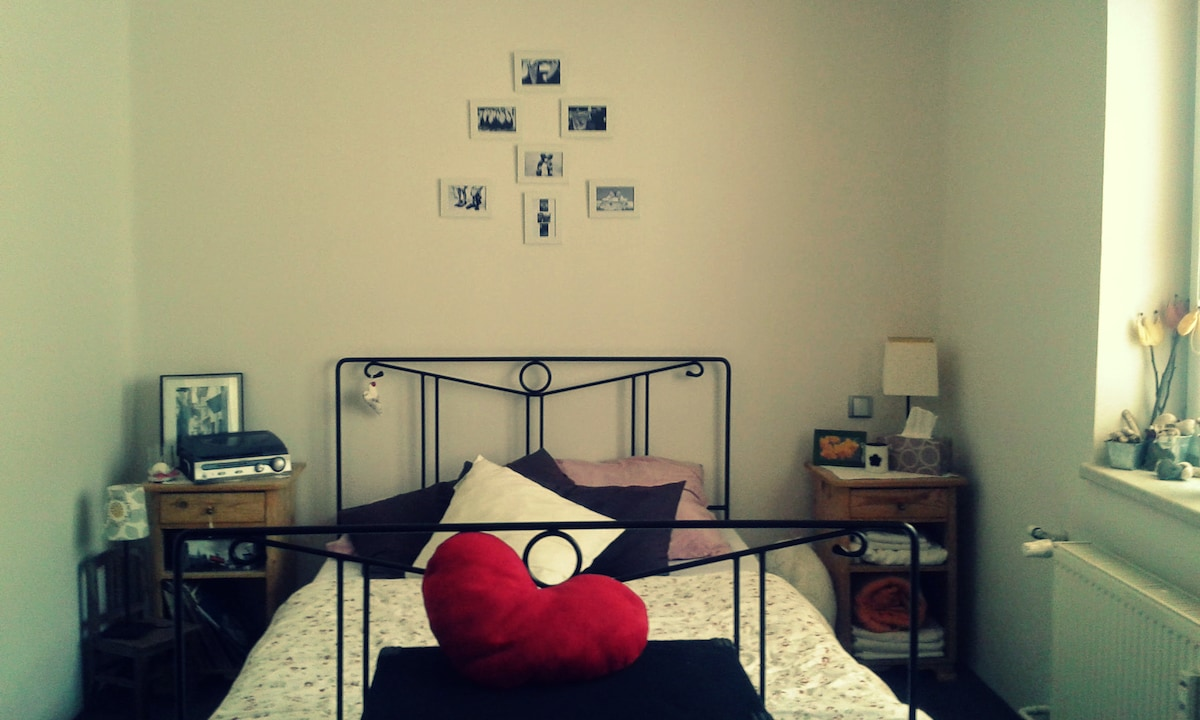 Warm and comfortable privat room!
