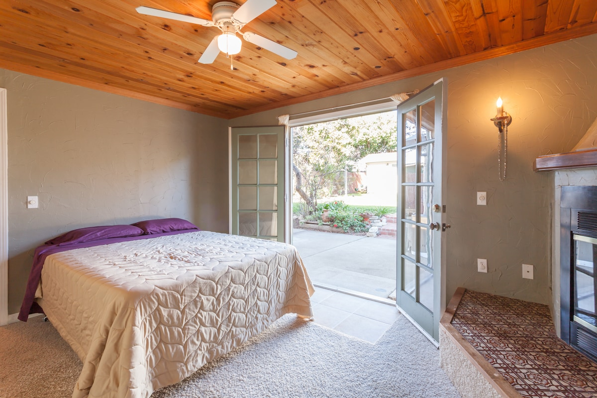 Charming room with private entrance