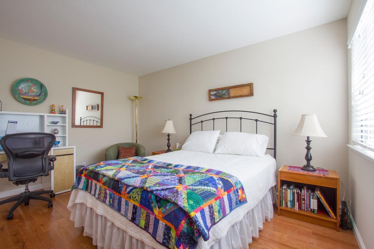 Private Bedroom near Apple HQ
