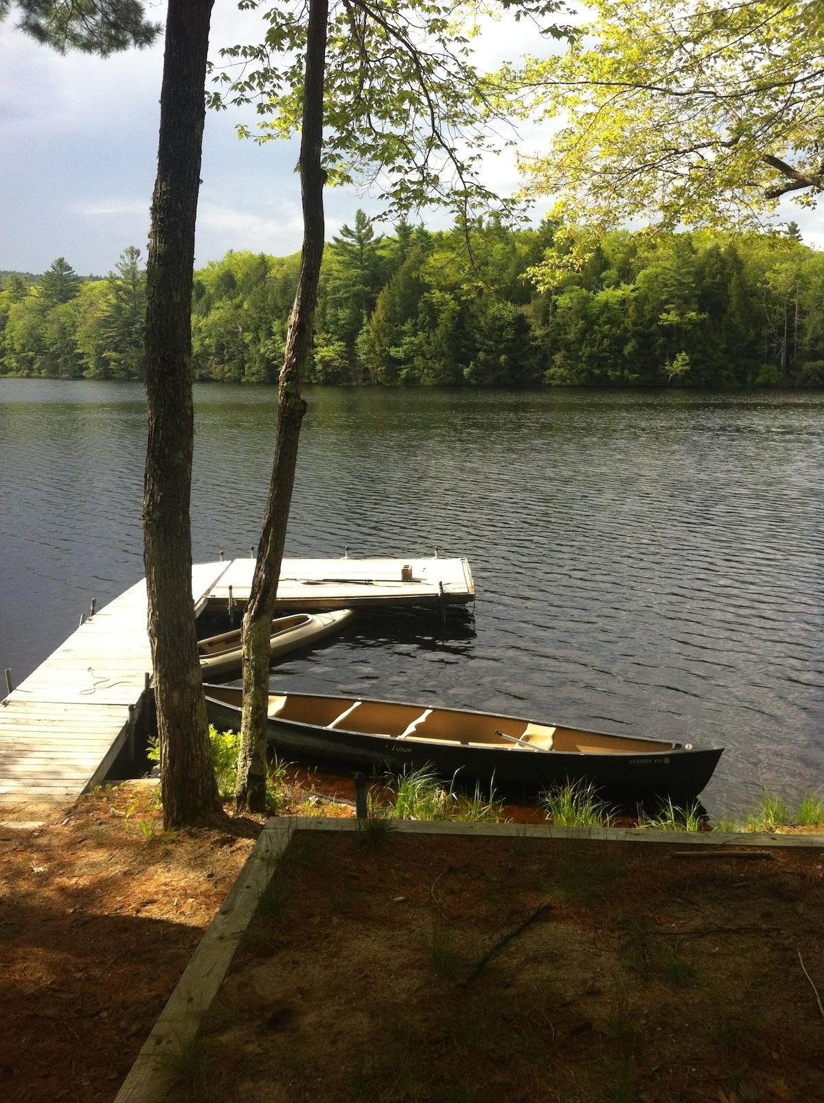 Quiet Maine Cabin Getaway