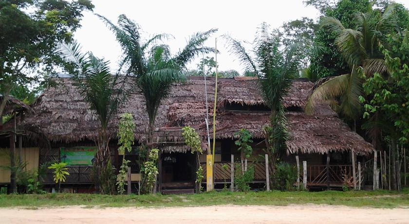 Big tipical house of wood