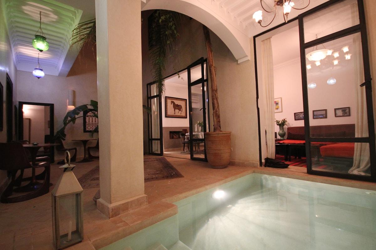 Chambre d'hôte dans Riad de charme