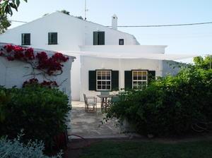 vivienda típica Menorquina