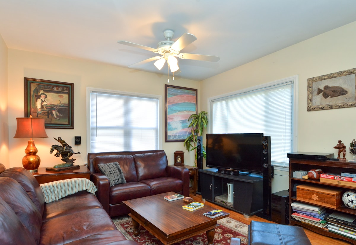 Sweet, Nice 2BR House in DT Raleigh