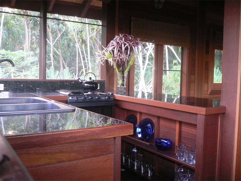 Peaceful Balinese Teak Cottage