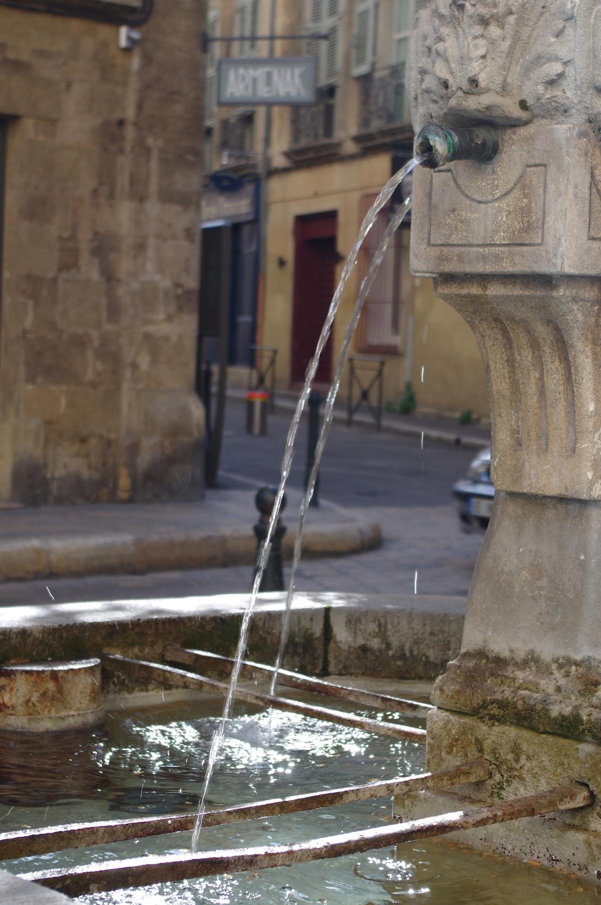 Fontaine de la Place des Trois Ormeaux