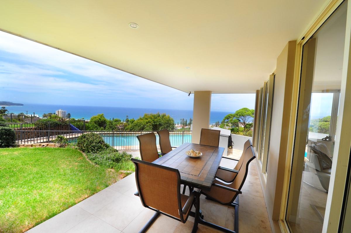 2 Room Flat- Near Manly,Ocean Views
