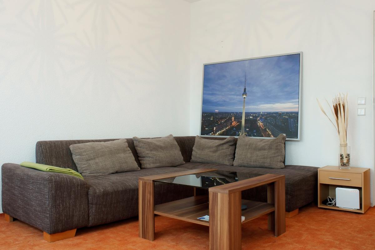 zentrale Wohnung mit tollem Blick